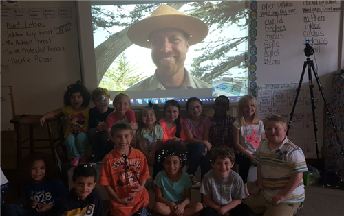 Our class with Ranger Daniel